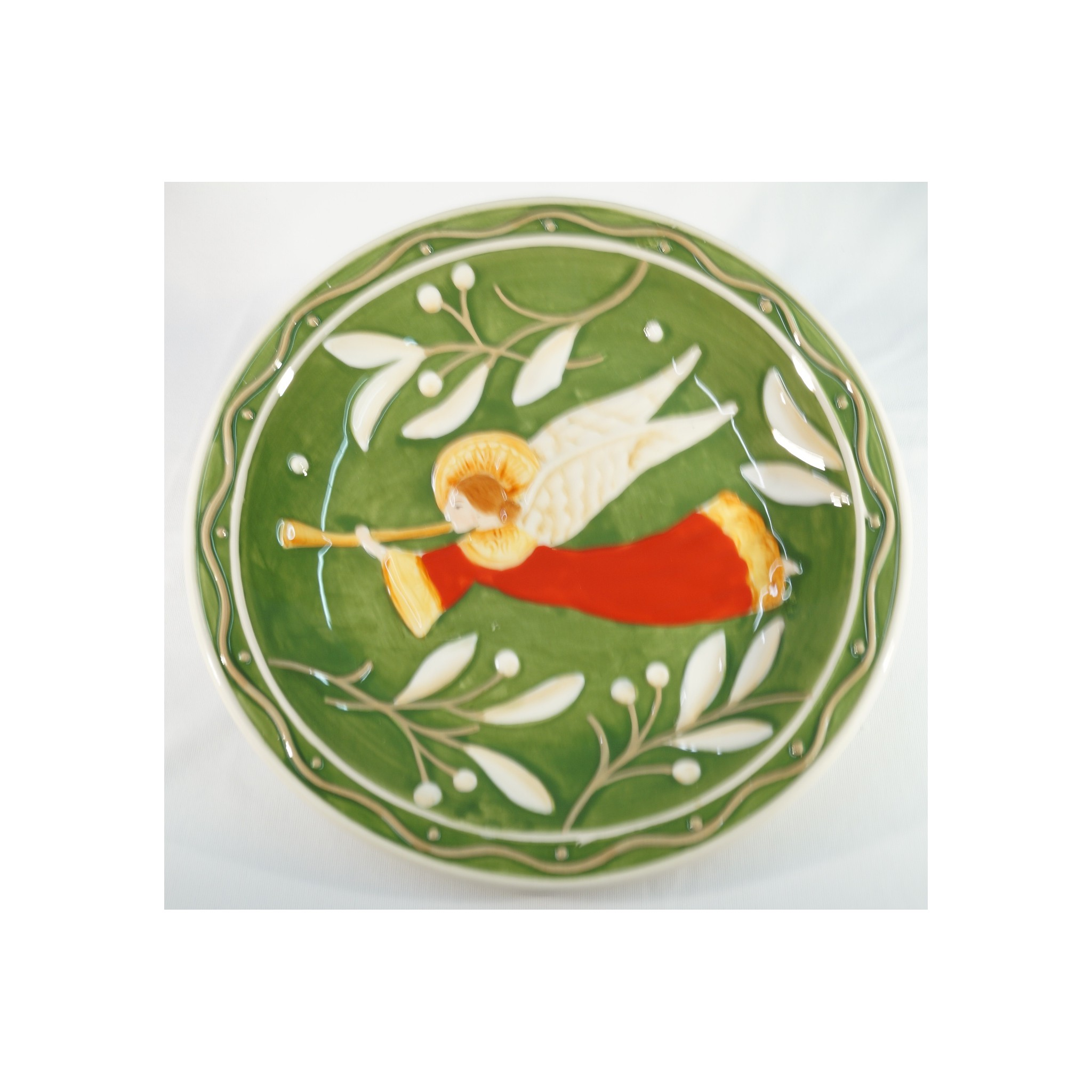 Christmas plates Angel of Fitz and Floyd