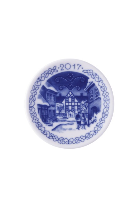 Christmas Plaquette Many Years by Royal Copenhagen